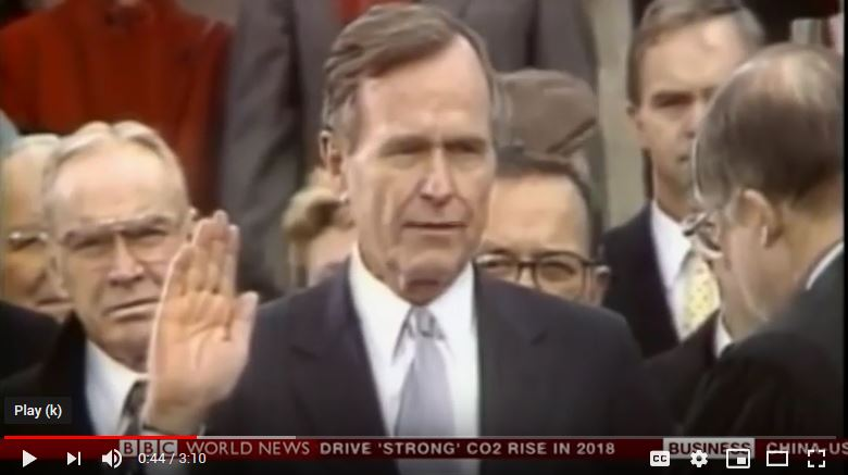 Memories of President George Bush (BBC Interview)